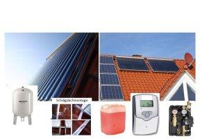 Solar Pakete Röhre