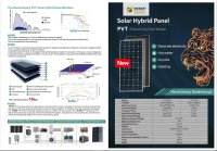 PVT 310 Hybrid Solarmodul